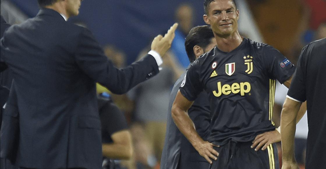 Está fue la sanción de Cristiano Ronaldo por su expulsión en Champions