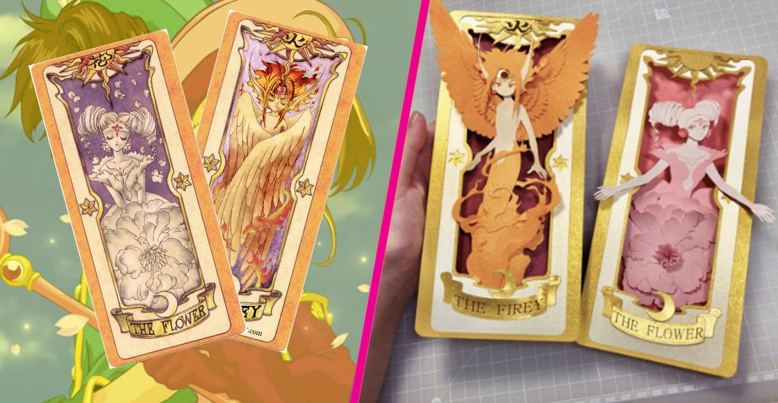 ¡Wooow! Esta artista recreó las famosas cartas de Sakura Card Captors