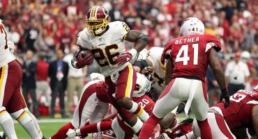 Así fue el touchdown 100 de Adrian Peterson en la NFL