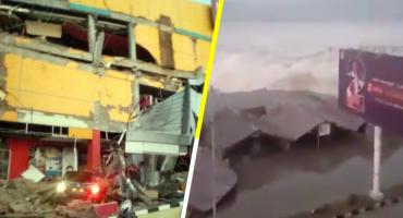 Video: Tras una serie de sismos, tsunami golpea la costa de Indonesia