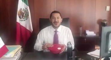 Austeridad nivel: Martí Batres lanza el #TuppersChallenge en el Senado