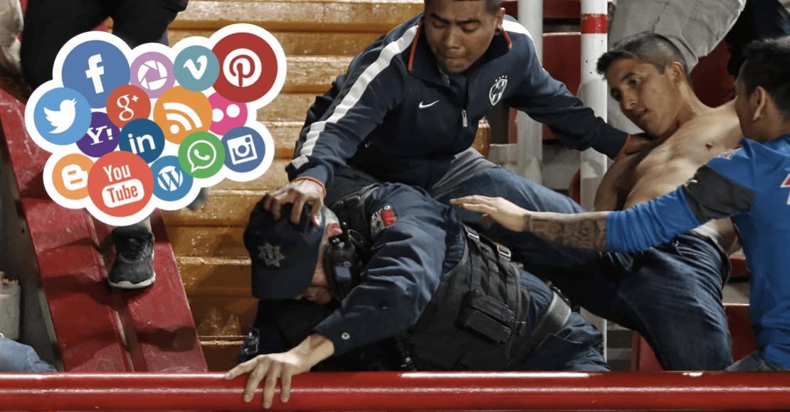 La violencia del futbol mexicano, todo comienza en las redes sociales