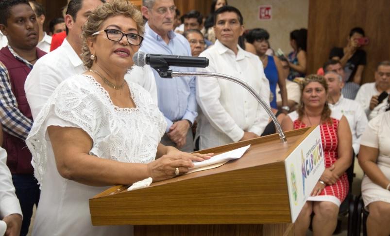 Adela román, alcaldesa electa de Acapulco