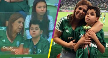 La historia detrás de la imagen del aficionado del Palmeiras