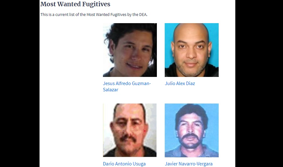 Dea Most Wanted