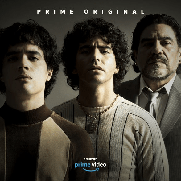Amazon presenta adelanto de la serie de Diego Armando Maradona