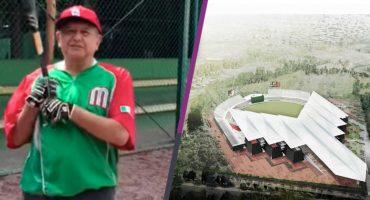 AMLO inaugurará Estadio de Beisbol para el 2019
