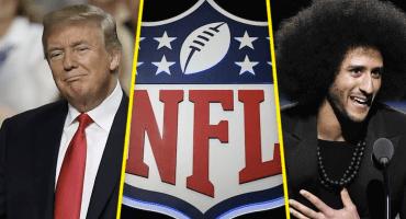 ¡Hey Trump! La fantástica NFL está de regreso con todo y Kaepernick