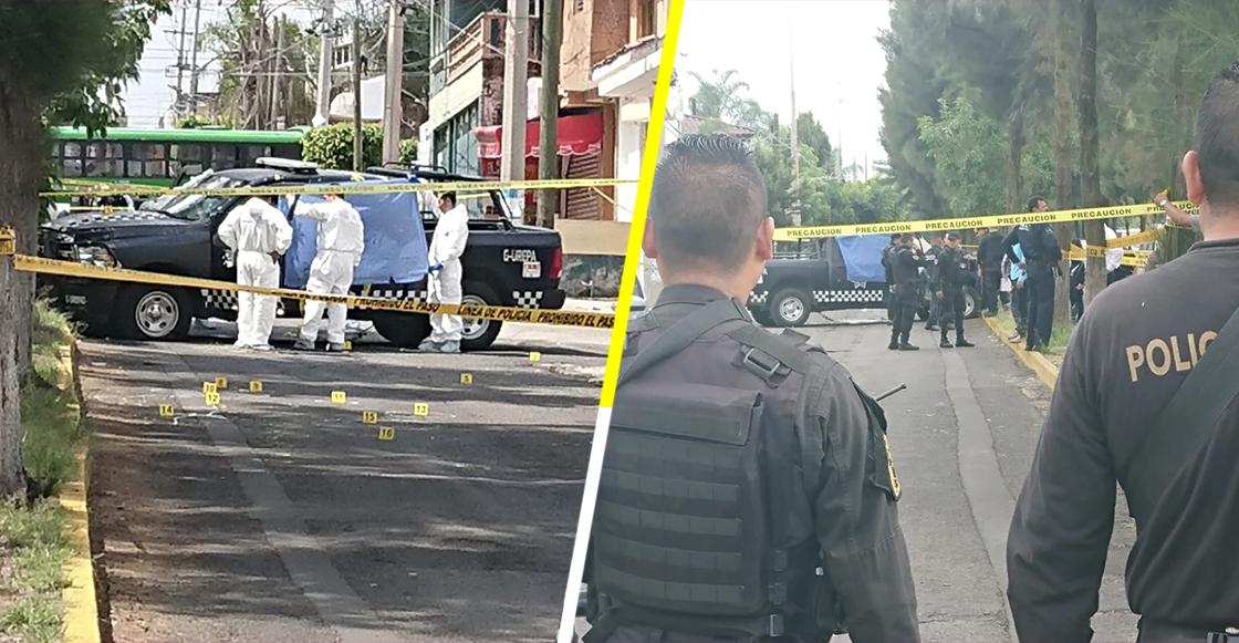 En el país del no pasa nada: 4 policías fueron asesinados en Tonalá, Jalisco