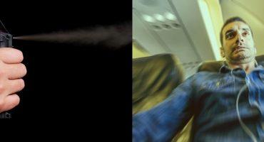 ¿Trolleo accidental? Una foto y gas pimienta arruinan un vuelo a Hawái