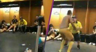 El baile con el que Maradona festejó el triunfo de Dorados en el vestidor
