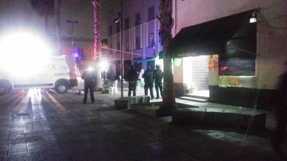 Plaza Garibaldi atacada