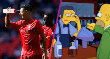 El secreto del liderato del Liverpool en la Premier League es ¡Una bebida especial!