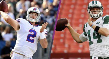 Bills y Jets anuncian a sus quarterbacks titulares para la NFL
