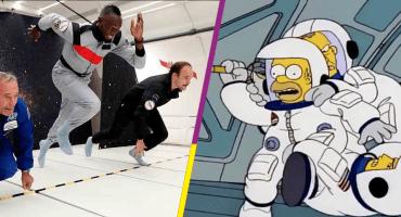 Usain Bolt, el hombre más rápido del planeta con y sin gravedad