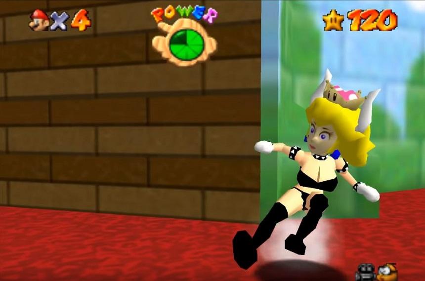 Y porque fans, ¡ahora puedes jugar como Bowsette en Mario 64!