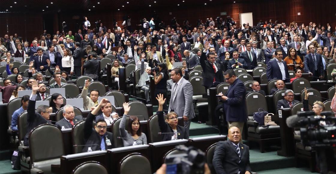 ¡Andalaosa! Cámara de Diputados regula salarios y elimina pensiones para expresidentes