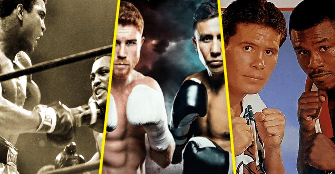 ¡Canelo Vs Golovkin! Las 5 mejores peleas en la historia del boxeo