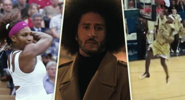 Ya salió el comercial de Nike con Kaepernick, Serena, Lebron y refugiados.... y es una maravilla