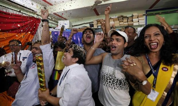 Despenalización de la homosexualidad en India