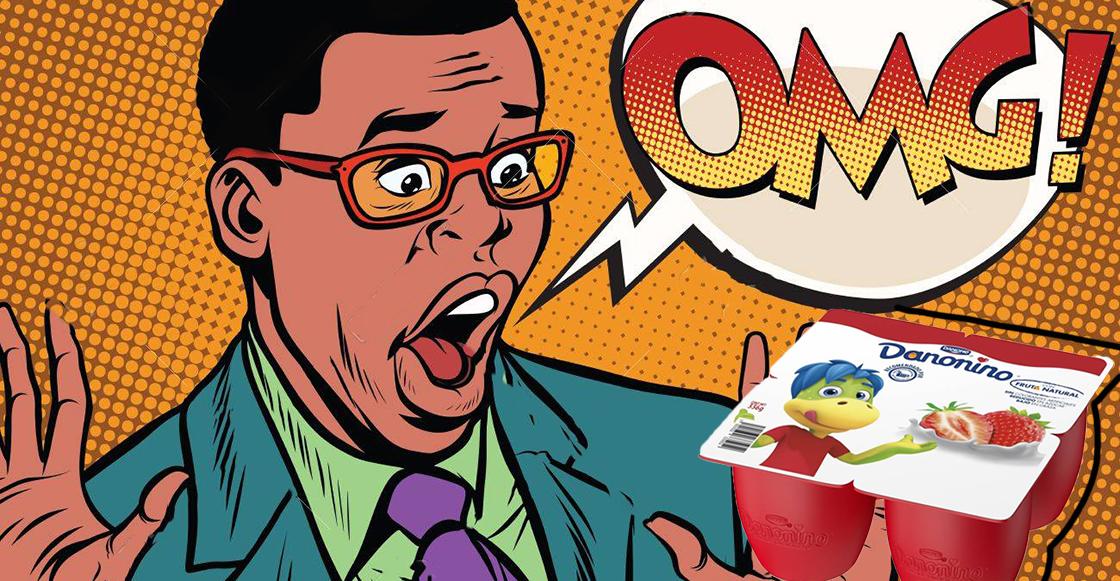 ¡Hemos vivido engañados! El internet descubre que Danonino no es un yoghurt sino un... ¿queso?