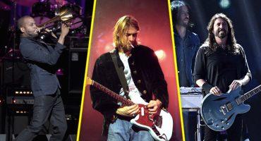 Dave Grohl se fue a la batería de Trombone Shorty para tocar 'In Bloom' de Nirvana