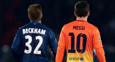 ¿Podrá? David Beckham quiere fichar a Lionel Messi para el Inter Miami
