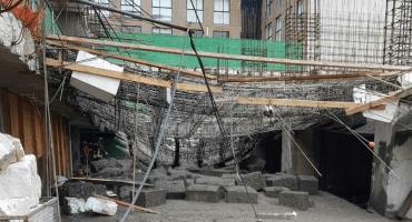 Se reporta derrumbe en una construcción en Miguel Hidalgo, hay heridos