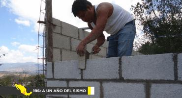 19S: A un año del sismo: La reconstrucción en Chiapas, gracias a las ONGs
