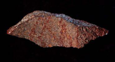 ¡Descubren en Sudáfrica el dibujo a lápiz más antiguo de la historia!