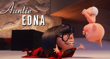 'Los Increíbles 2': Edna Moda y Jack Jack tendrán su propio corto 😱❤️