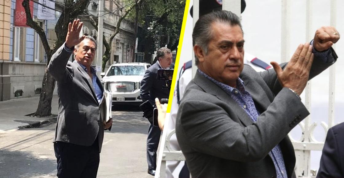 """¡""""Ahora dense un beso""""! El 'Bronco' solicitó a López Obrador 16 mil mdp para infraestructura"""