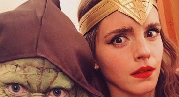 ¿Por qué Emma Watson subió una foto disfrazada de Wonder Woman?