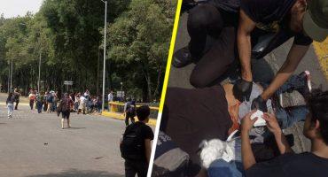Estudiantes fueron agredidos por presuntos porros en Ciudad Universitaria