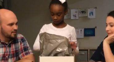 La emotiva reacción de una niña al enterarse que será adoptada