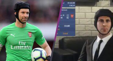 ¡Epic fail! FIFA 19 hace el oso con Peter Cech y les da una respuesta épica