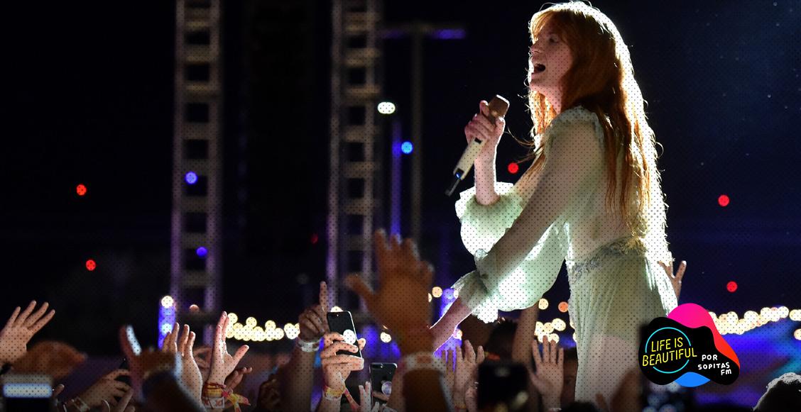 El día en que Florence + The Machine hizo que todos guardaran sus celulares