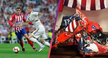 Los botines que lució Griezmann en el empate contra el Real Madrid