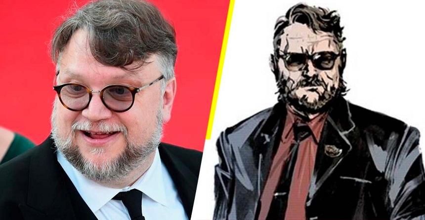Guillermo del Toro - Ilustración de Hideo Kojima para Death Stranding