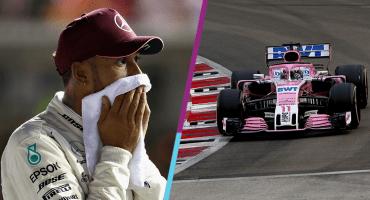 Hamilton deja acorralado a Vettel y Checo largará séptimo en Singapur