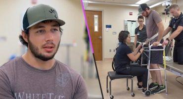 ¡Histórico! Hombre paralítico vuelve a caminar con un implante que controla con la mente