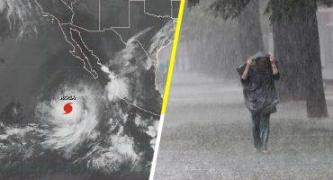 ¡Aguas con las lluvias! El huracán Rosa ya se convirtió en categoría 2