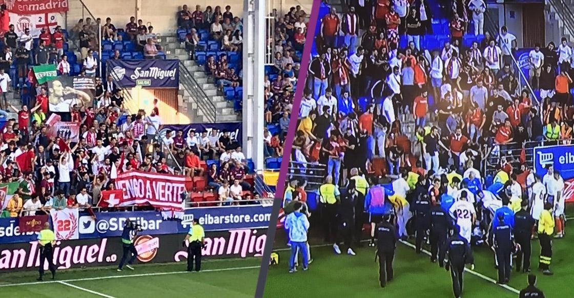 Gradas se derrumban en España mientras afición celebraba un gol