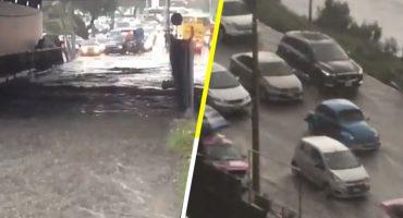 ¡Prevenidos! Hay inundaciones en Periférico Sur: Insurgentes y Picacho-Ajusco