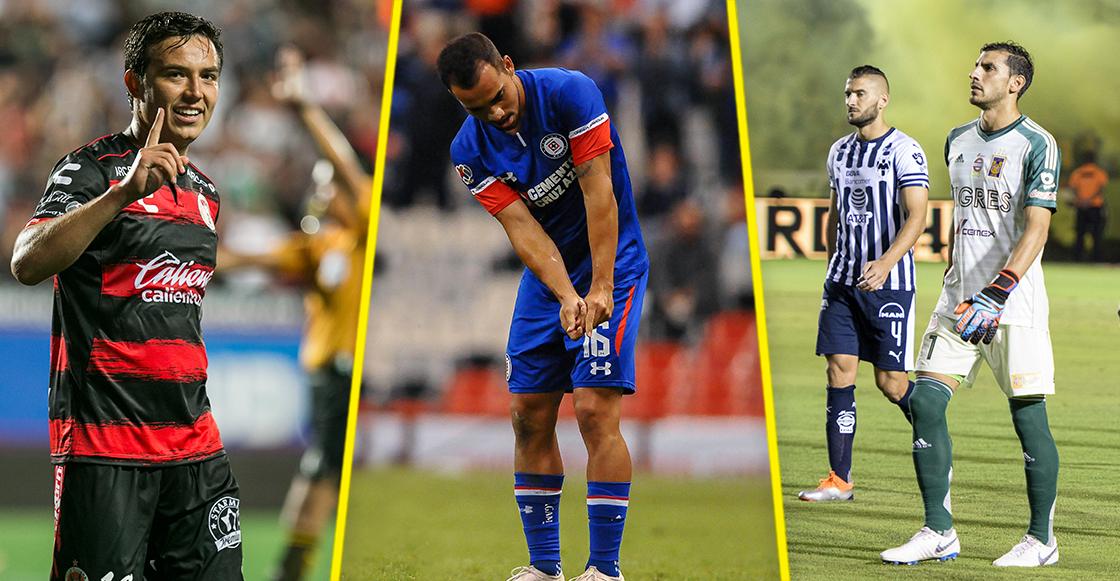 Lo que rifó y lo que no rifó de la décima jornada del Apertura 2018
