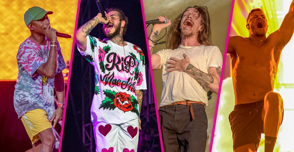 Imagine Dragons, Post Malone, y N.E.R.D. de lo mejor en Kaaboo del Mar