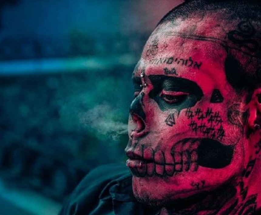 Kalaca Skull, el joven colombiano que quiere ser una calavera