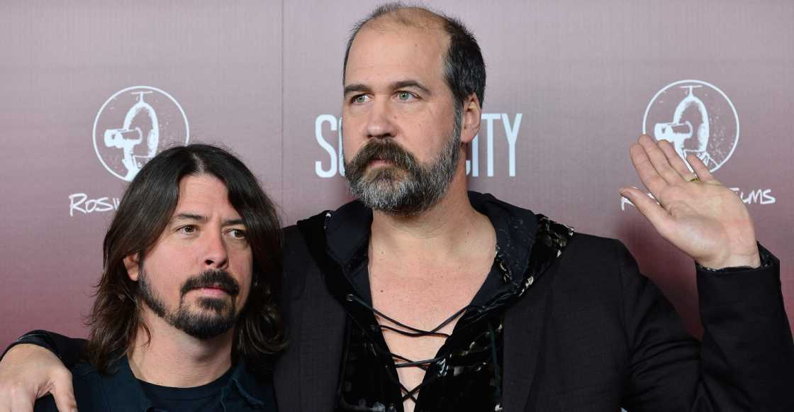Krist Novoselic y Dave Grohl tocaron Molly's Lips