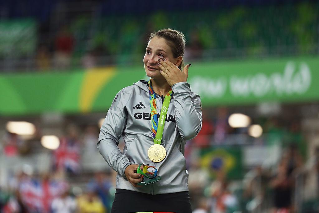 Campeona olímpica Kristina Vogel queda parapléjica
