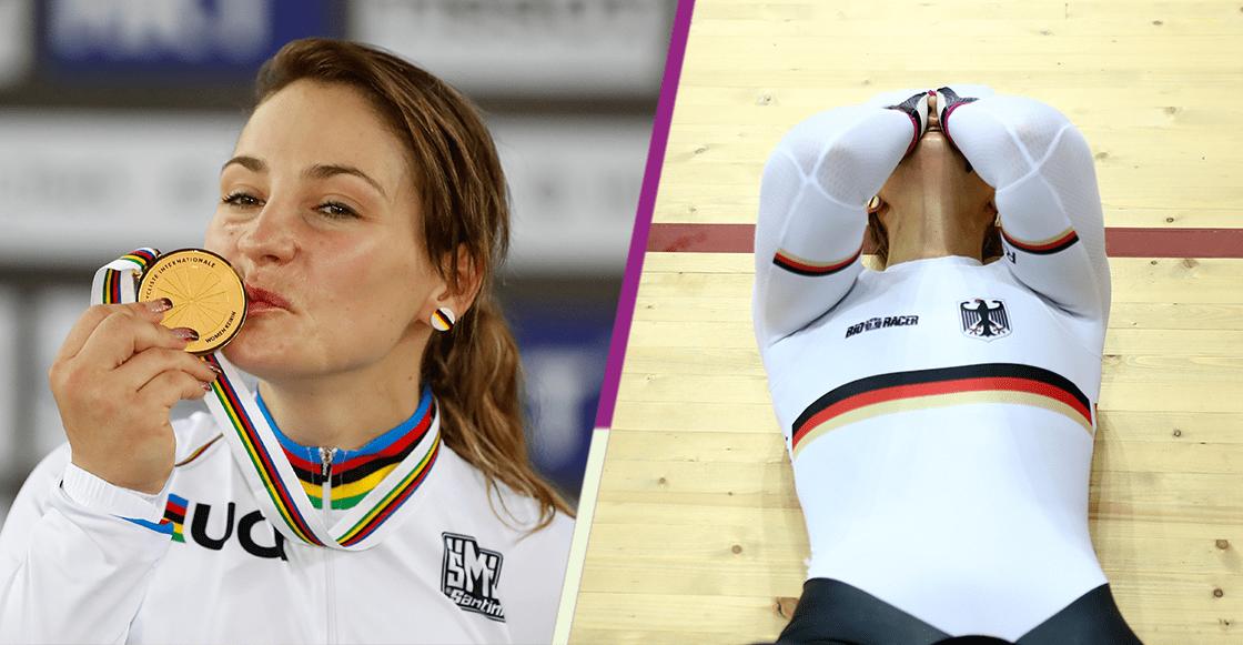 Kristina Vogel, la bicampeona olímpica alemana, queda parapléjica
